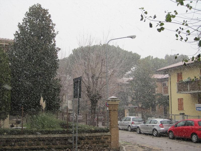 Neve a Senigallia - foto di repertorio