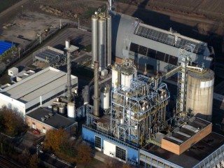 Una centrale a turbogas