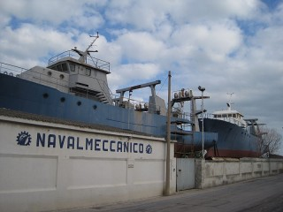 Ex cantiere Navalmeccanico a Senigallia
