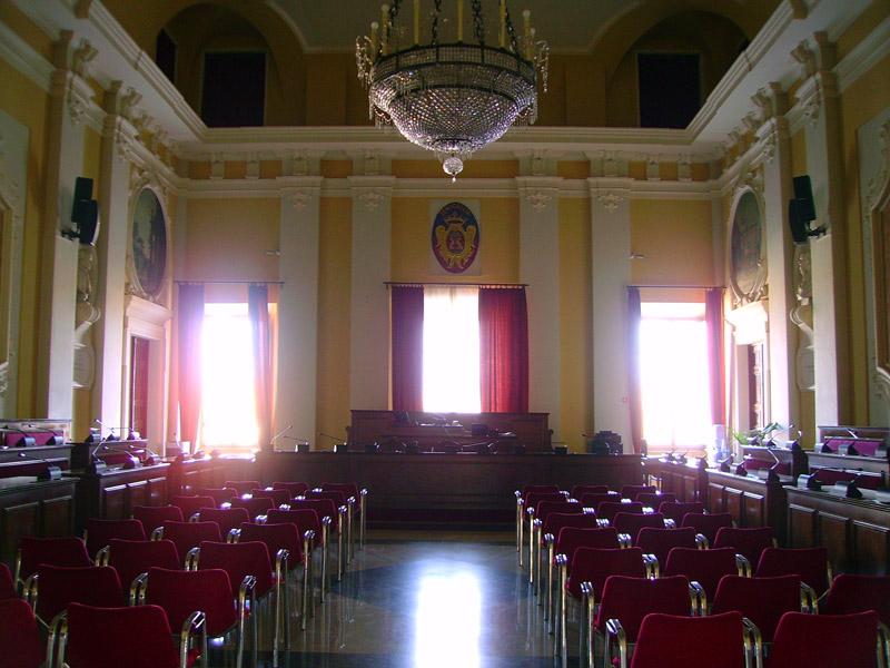Aula Consiliare del Comune di Senigallia