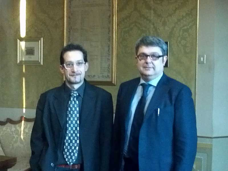 Cristiano Bartolini e Massimo Olivetti
