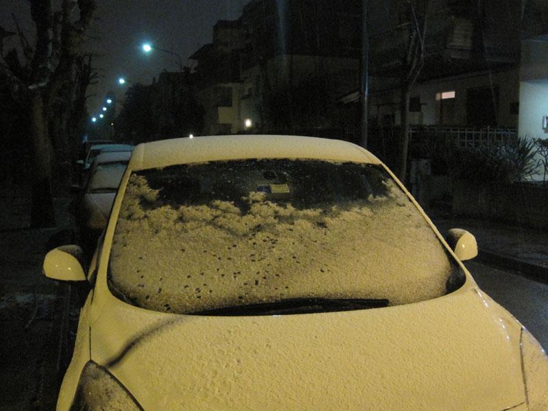 Allerta meteo, poca neve in Umbria
