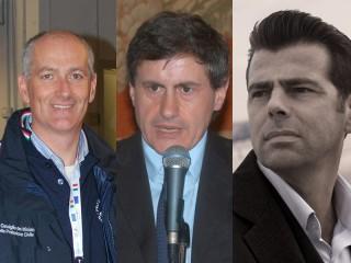 Franco Gabrielli, Gianni Alemanno, Maurizio Mangialardi