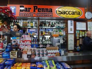 Il bar Penna a Senigallia
