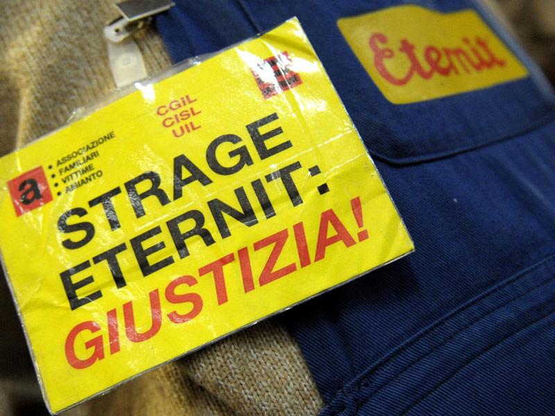 Immagine dal processo Eternit di Torino