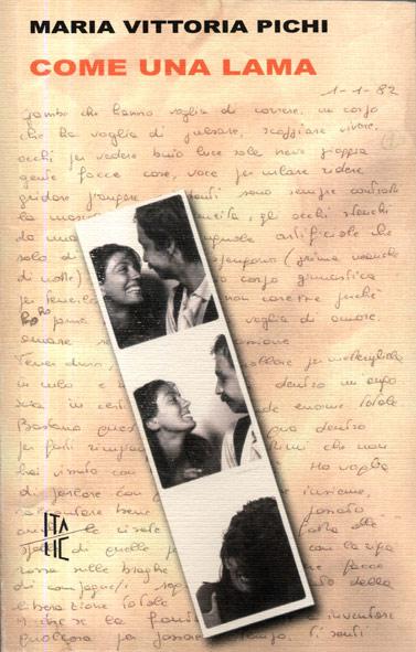 """Copertina del libro """"Come una lama"""""""