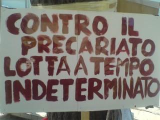 Manifesto di lotta al precariato