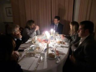 """Cena al """"Panzini"""" per """"M'illumino di meno 2012"""""""