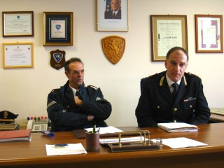 Alfredo Catenaro e Paolo Molinelli fanno un bilancio delle attività della Polizia Stradale 2011