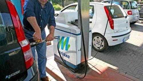 Distributore di metano