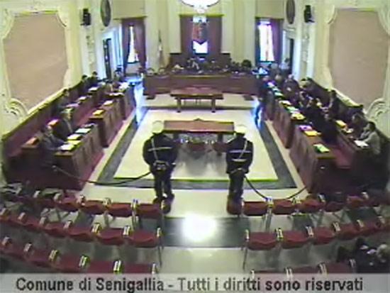 Consiglio Comunale del 27 febbraio 2012 a Senigallia