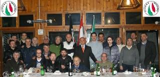 Il gruppo della Fiamma Tricolore della provincia di Ancona