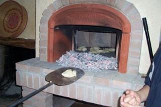 Polveri sottili nel forno di una pizzeria