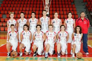 La formazione del Basket 2000 Senigallia