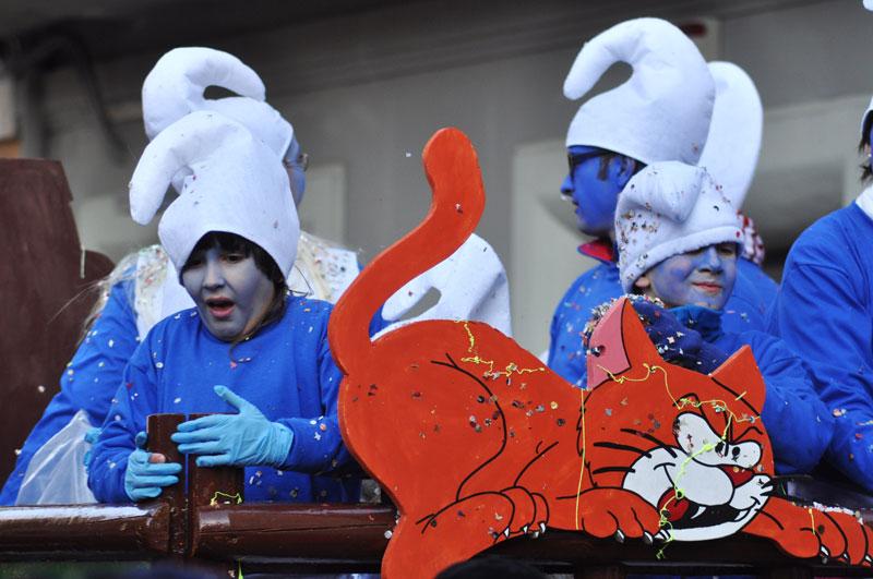 Maschere al Carnevale di Senigallia - foto di Francesco Salvatori