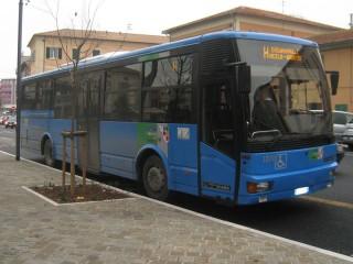 Autobus extraurbano a Senigallia