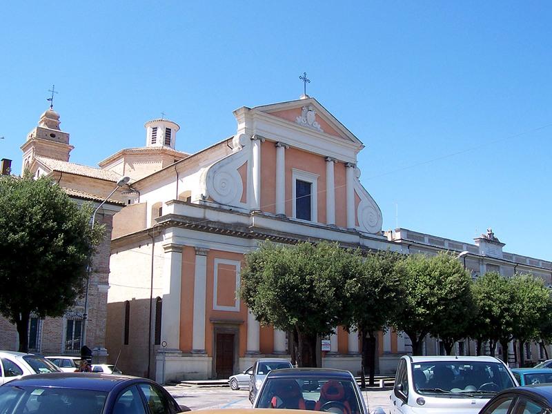 Il Duomo, chiesa Cattedrale di Senigallia
