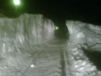 Due metri di neve a Civitalba di Arcevia