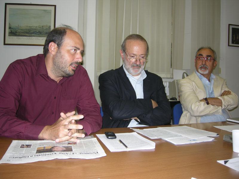 Battisti, Mancini, Rebecchini: consiglieri di Partecipazione e Rifondazione