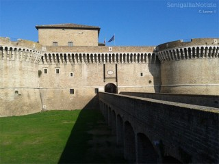 La Rocca Roveresca di Senigallia. Foto di Carlo Leone per Senigallia Notizie. Tutti i diriti riservati.