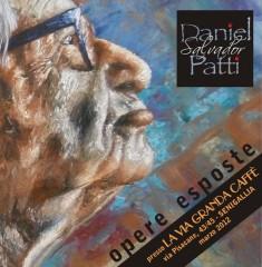 Volantino della mostra di Daniel Patti