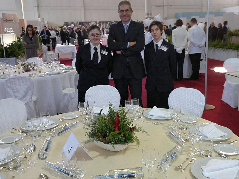 Gli studenti del Panzini al Gran Trofeo d'Oro della Ristorazione italiana