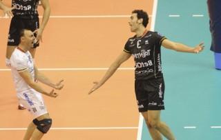 I due campionissimi del volley Andrea Bari e Emanuele Birarelli