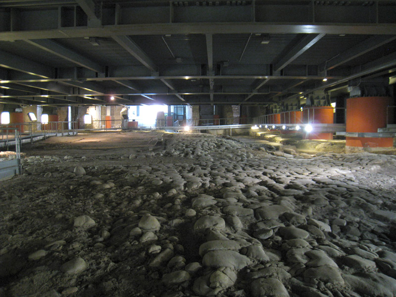 Area Archeologica La Fenice di Senigallia - interno