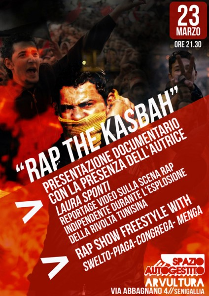 Locandina Rap the kasbah