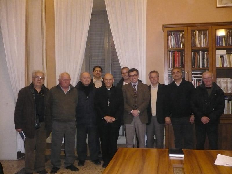 Il circolo ACLI U. Ravetta di Senigallia all'incontro con il Vescovo