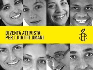 "Campagna ""Diventa attivista per i diritti umani"""