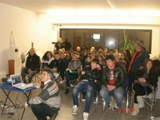 Lezione del corso di astronomia a Senigallia