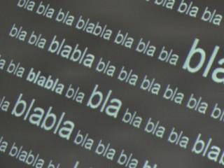 Parole, bla bla