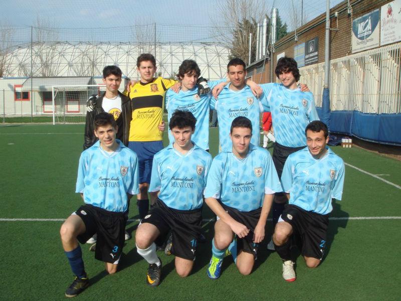 La squadra dell'Atletico Ciarnin