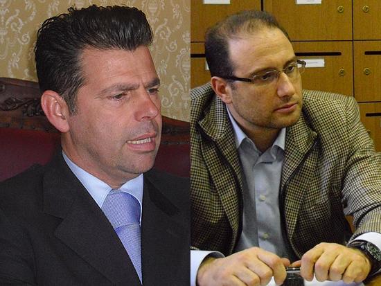Maurizio Mangialardi e Roberto Paradisi
