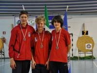 I giovani arcieri dell'ASSTA Senigallia agli Indoor di Senigallia