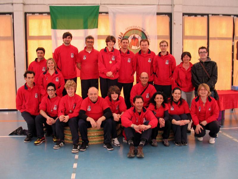 Gli Arcieri dell'ASSTA Senigallia agli Indoor di Senigallia