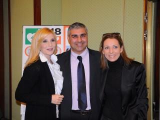 Lorella Cuccarini, Gennaro Campanile, Valentina Vezzali