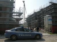 Protesta operai edili a Senigallia