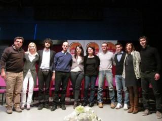 La squadra di Corinaldo Democratica per le comunali del 6-7- maggio 2012
