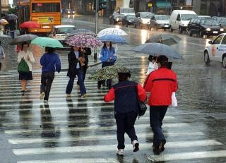 Temporali e precipitazioni
