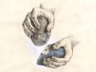 Lavorazione pietra nella preistoria
