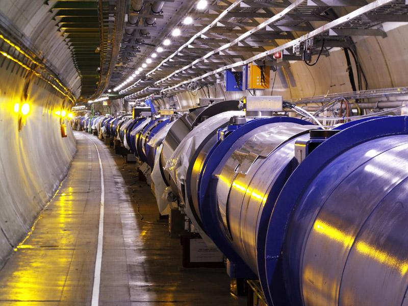 LHC, Large Hedron Collider