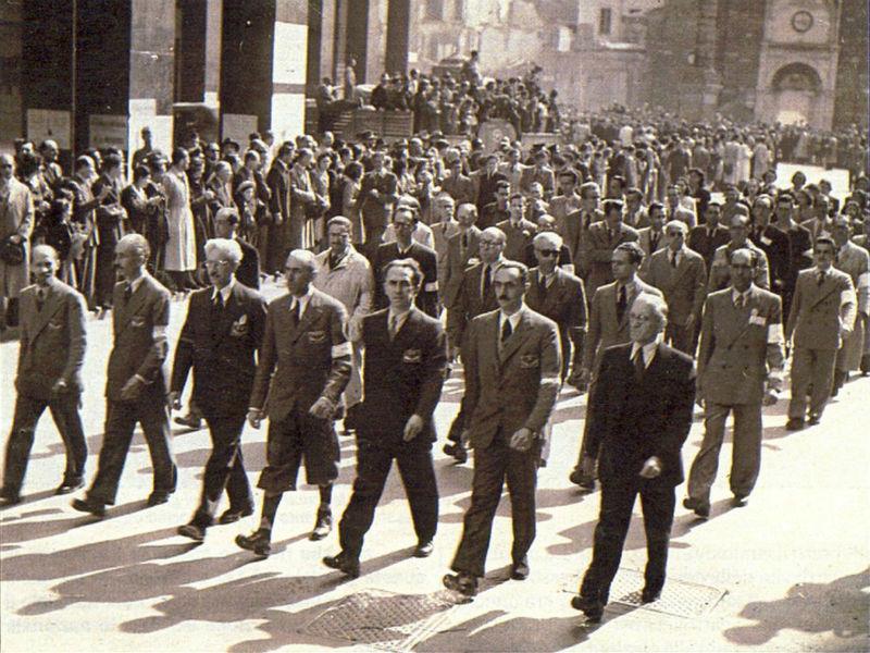 Immagine della liberazione di Milano