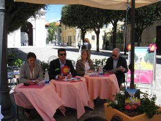 Presentazione di via Carducci in Fiore