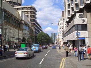 Tottenham Court Road, nel centro di Londra
