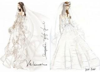 Progetti di abiti da sposa