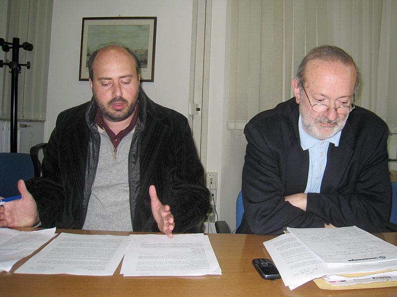 Paolo Battisti e Roberto Mancini, consiglieri del gruppo consiliare Partecipazione