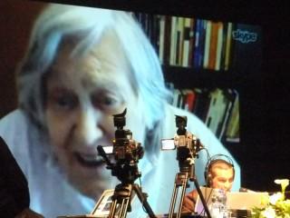 Marcello Pagliari intervista in video conferenza la celebre astrofisica Margherita Hack