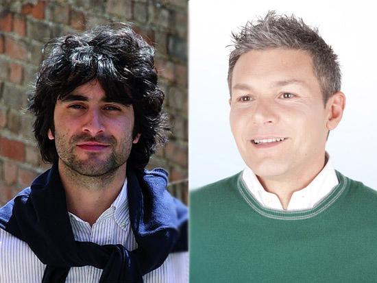 Matteo Principi e Cesare Morganti